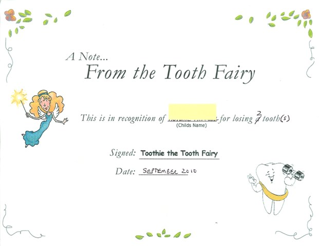 What is the tooth fairys name